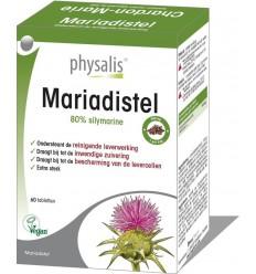 Physalis Mariadistel 60 tabletten   Superfoodstore.nl