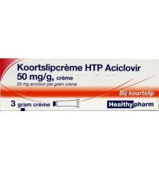 Lippenbalsem Healthypharm Koortslip creme aciclovir 3 gram kopen