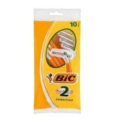 BIC Twin easy sensitive scheermesjes 10 stuks |