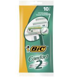 BIC Comfort 2 scheermesjes 10 stuks   Superfoodstore.nl