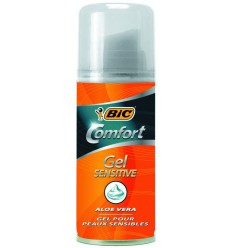 BIC Scheergel comfort sensitive 75 ml | Superfoodstore.nl