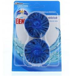 Toiletreinigers & Verfrissers WC Eend Stortbakblok blauw duo 2