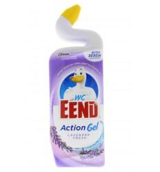 Toiletreinigers & Verfrissers WC Eend Action gel lavendel fresh
