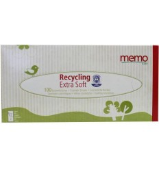 Memo tissues 100 stuks | € 1.37 | Superfoodstore.nl