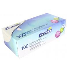 Ecodoo Tissue box 100 stuks   Superfoodstore.nl
