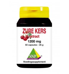 SNP Zure kers extract 1200 mg 60 capsules | Superfoodstore.nl