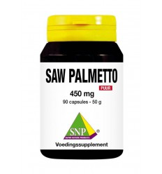 SNP Saw palmetto 60 capsules | Superfoodstore.nl