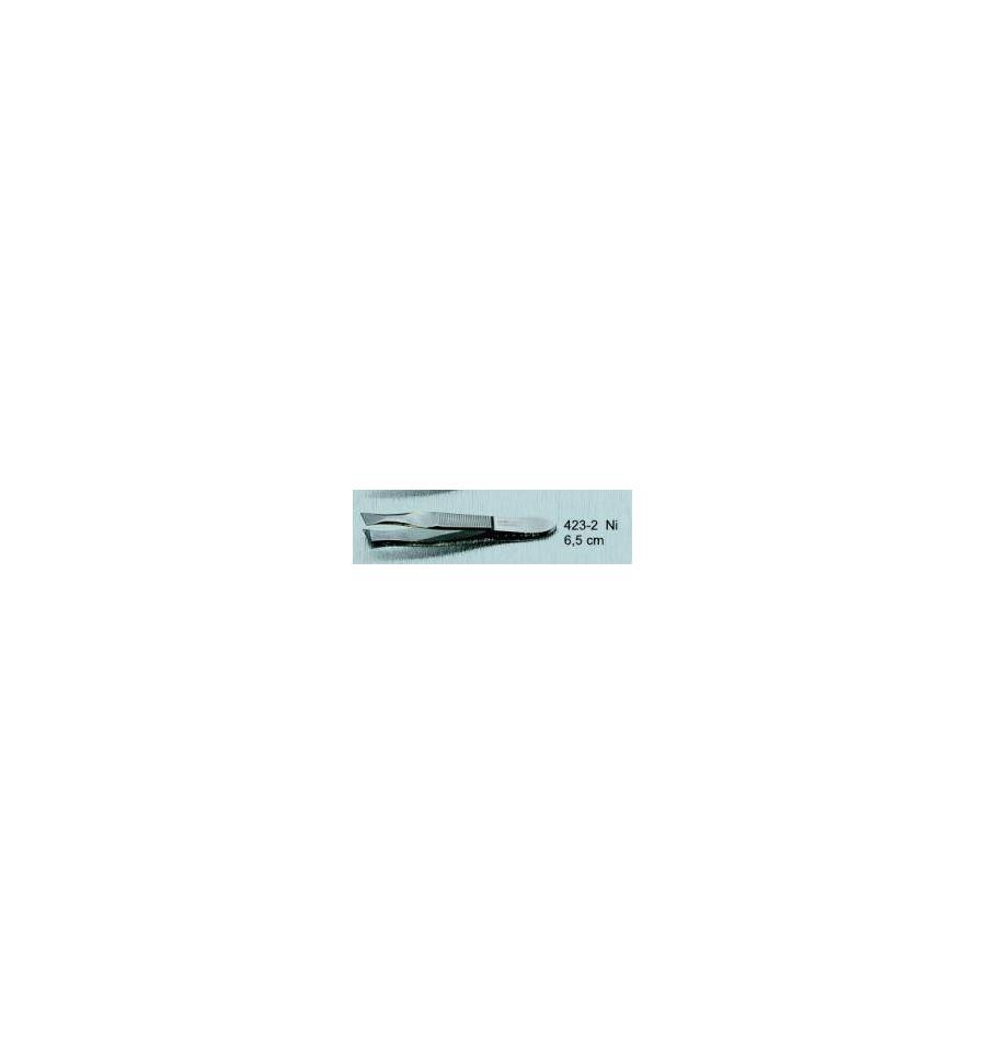 Malteser Pincet 6,5 cm nikkel 423-2