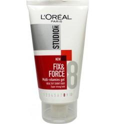 Loreal Fix & force multi vitamins gel 150 ml | Superfoodstore.nl