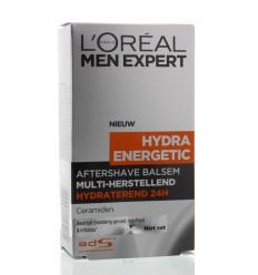 Na het scheren Loreal Men expert hydra energetic aftershave