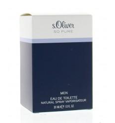 Geuren voor mannen S Oliver So pure men eau de toilette 30 ml
