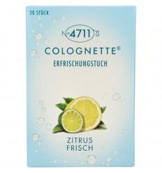 4711 Colognettes lemon 20 stuks | Superfoodstore.nl