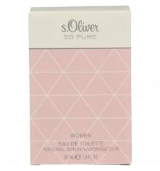Geuren voor vrouwen S Oliver Woman so pure eau de toilette 30