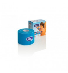Cure Tape Blauw 5 m x 5 cm   Superfoodstore.nl