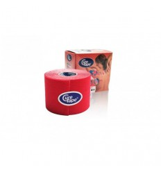 Cure Tape Rood 5 m x 5 cm | € 12.86 | Superfoodstore.nl