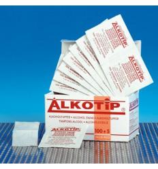 Alkotip Alcoholdoekje alkotip 105 stuks | Superfoodstore.nl