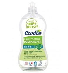 Ecodoo Afwasmiddel vloeibaar ontvettend munt 500 ml |