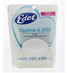 Edet Vochtig toiletpapier pure 40 stuks | € 2.25 | Superfoodstore.nl