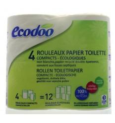 Ecodoo Toiletpapier 4 stuks   Superfoodstore.nl