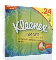Kleenex Balsam zakdoekjes 24 stuks   Superfoodstore.nl