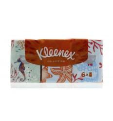 Kleenex Collection zakdoekjes 6 x 7 6 stuks   Superfoodstore.nl
