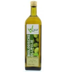 Vitiv Olijfolie extra virgin Spaans 1 liter | Superfoodstore.nl