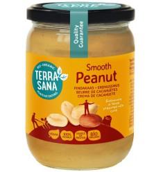 Terrasana Pindakaas fijn zonder zout 500 gram |