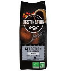 Destination Koffie selection arabica gemalen 250 gram |