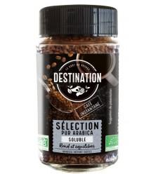 Destination Koffie arabica instant 100 gram | Superfoodstore.nl