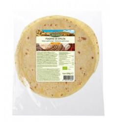 Bioidea Spelt piadine wrap 4 stuks | Superfoodstore.nl