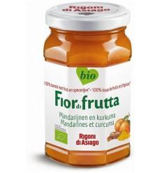 Fiordifrutta Mandarijn & kurkuma jam 260 gram | € 3.54 | Superfoodstore.nl