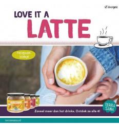 Boeken en folders Terrasana Recepten boekje latte B2C 25 stuks