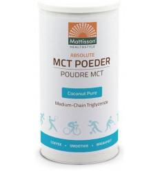 Mattisson MCT Poeder coconut pure 160 gram | Superfoodstore.nl