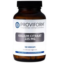 Proviform Kalium citraat 225 mg 100 vcaps | € 16.99 | Superfoodstore.nl