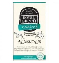 Royal Green Algenolie 60 vcaps | Superfoodstore.nl