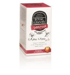 Royal Green Camu camu vitamine C 60 vcaps | Superfoodstore.nl