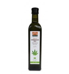 Mattisson Hennepzaadolie bio raw 500 ml | Superfoodstore.nl