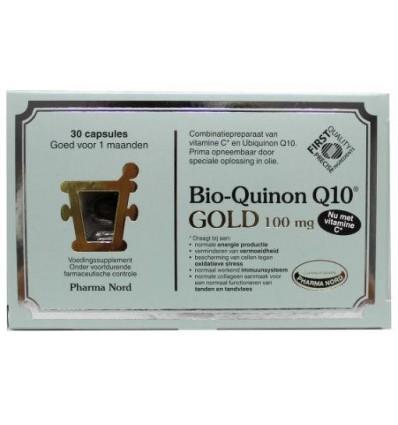 Pharma Nord Bio quinon Q10 gold 100 mg 30 capsules