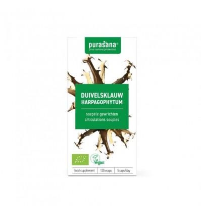 Voedingssupplementen Purasana Duivelsklauw vegan 120 vcaps kopen