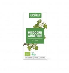 Purasana Bio meidoorn 355 mg 120 vcaps | € 12.85 | Superfoodstore.nl