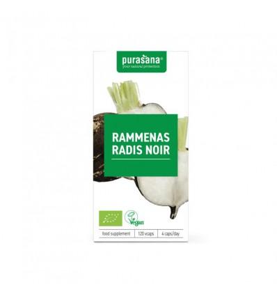 Purasana Bio rammenas 300 mg 120 vcaps | Superfoodstore.nl