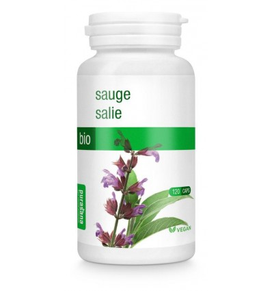 Purasana Bio salie 250 mg 120 vcaps | Superfoodstore.nl