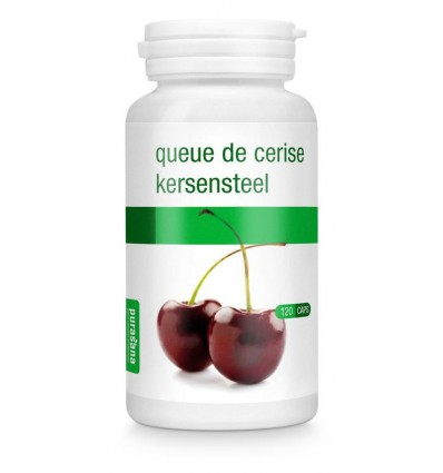 Purasana Kersensteel 250 mg 120 vcaps | Superfoodstore.nl