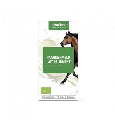 Voedingssupplementen Purasana Paardenmelk 90 vcaps kopen