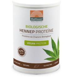 Mattisson Bio hennep proteine poeder 400 gram |