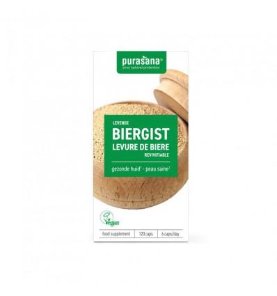 Mattisson Biergist 300 mg levend pursana 120 capsules |