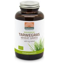 Mattisson Absolute tarwegras 400 mg bio 350 tabletten |