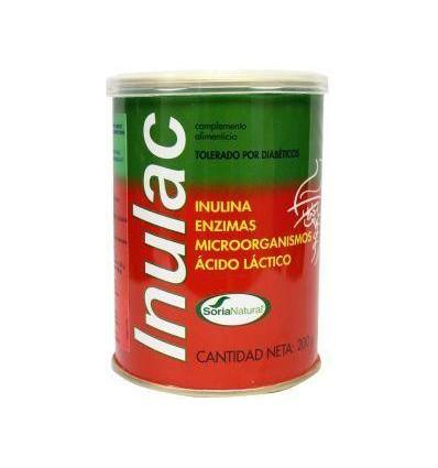 Soria Inulac polvo 200 gram