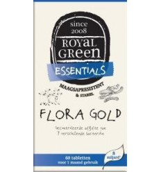 Royal Green Flora gold 60 tabletten | € 25.09 | Superfoodstore.nl