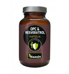Hanoju OPC resveratrol camu camu 90 capsules | Superfoodstore.nl
